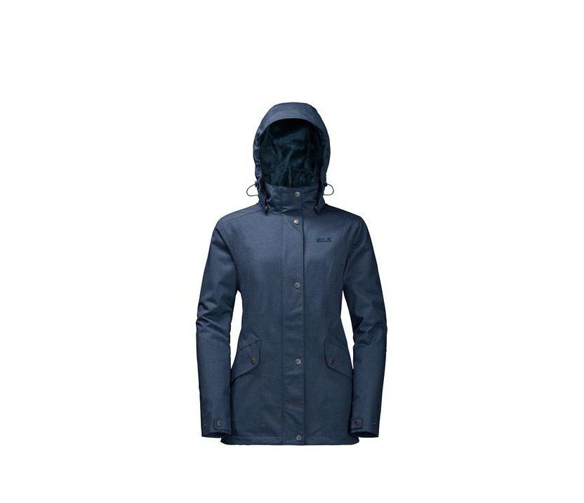 Jack Wolfskin Park Avenue Womens Jacket - Dark Sky