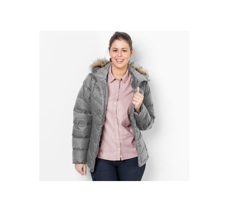 Jack Wolfskin Baffin Bay Womens Jacket - Alloy