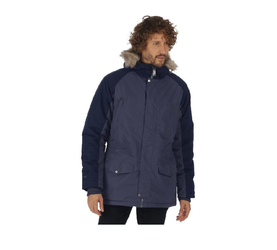 Regatta Salton Jacket - Quarry Blue / Navy