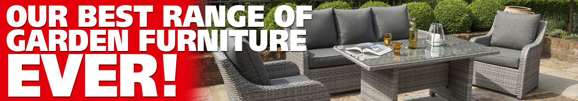 Best range of garden furniture ever