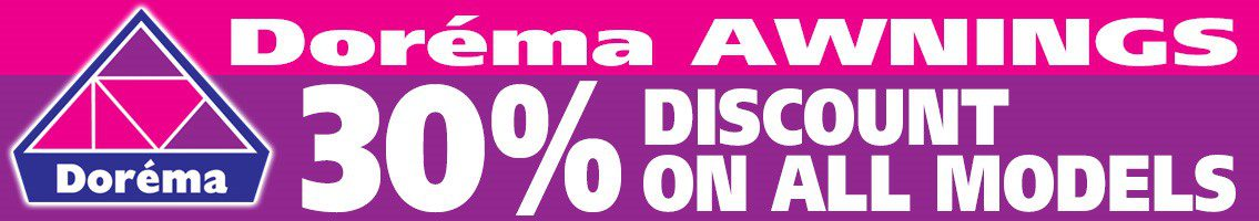 Dorema Awnings 30% discount