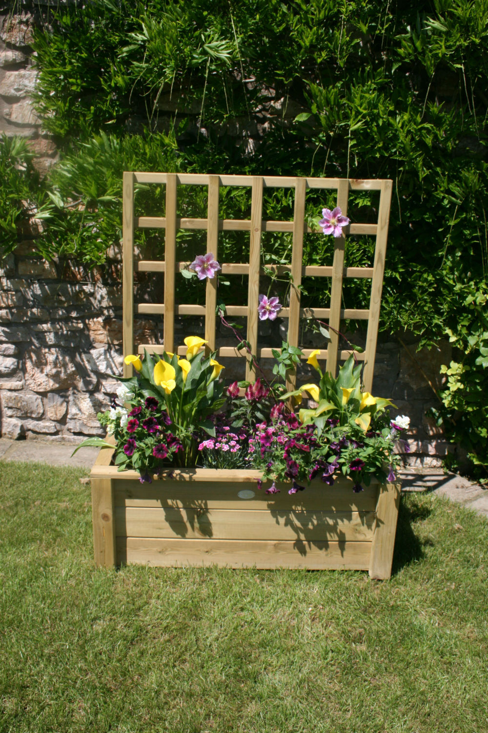 Hutton Trellis Planter