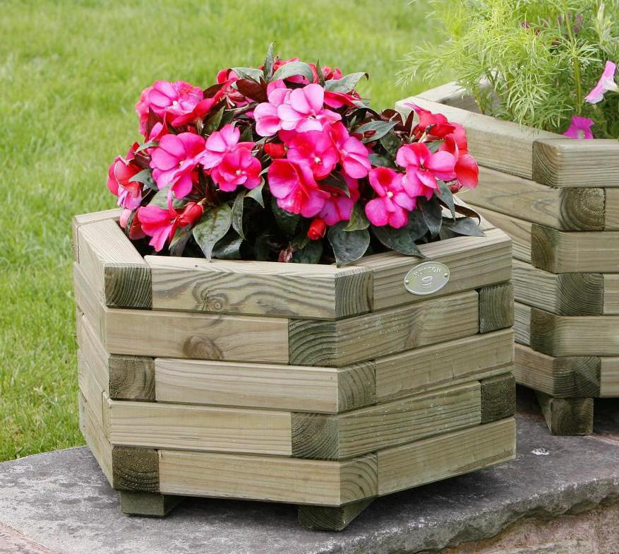 Hutton Hexagonal Small Planter