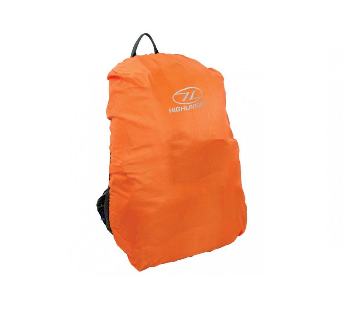 Highlander Medium Rucksack Cover - Orange