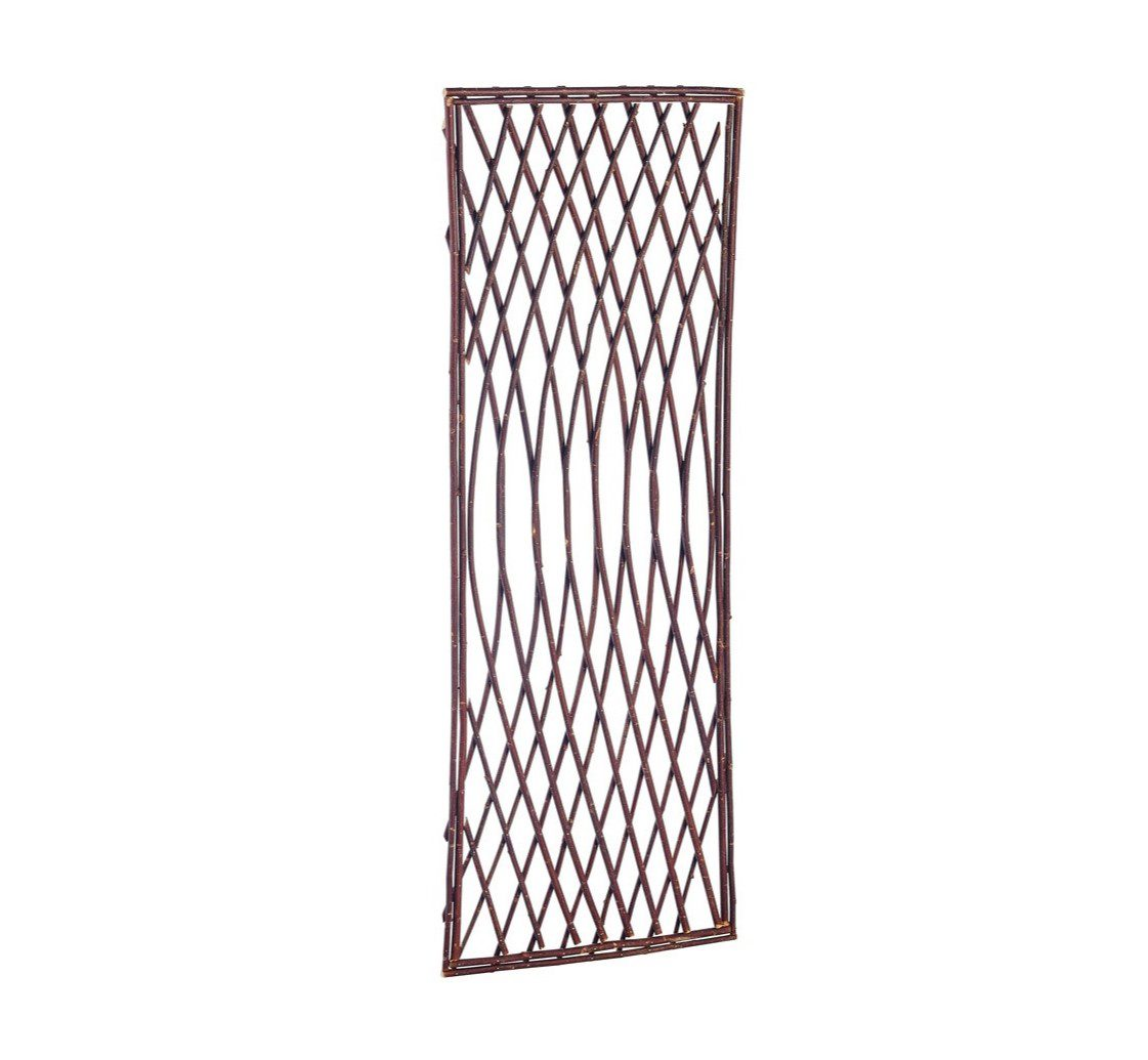 Gardman 1.8m x 0.6m Framed Willow Lattice Trellis Panel