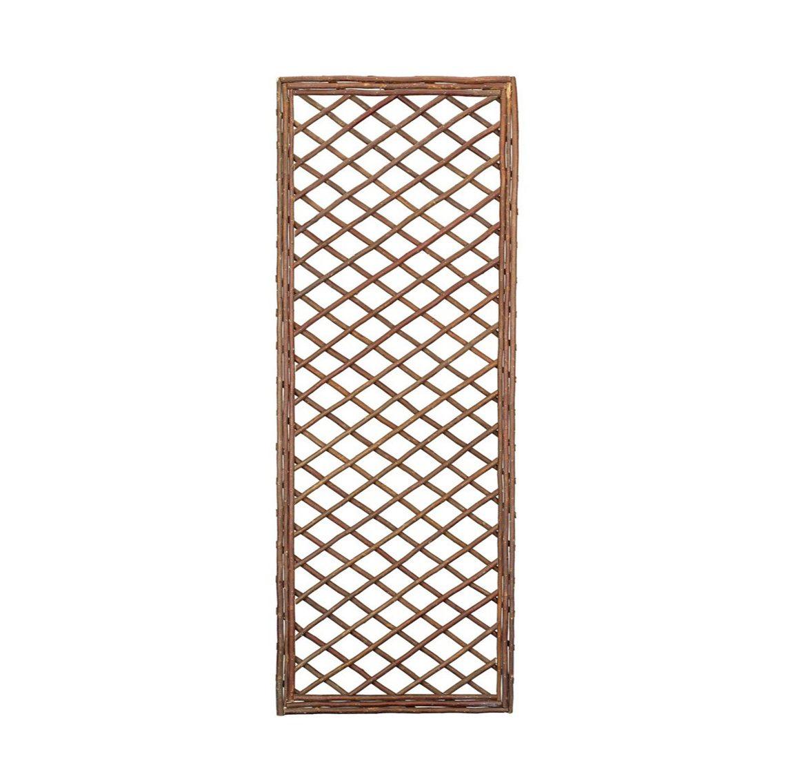 Gardman 1.2m x 0.45m Framed Willow Trellis Panel
