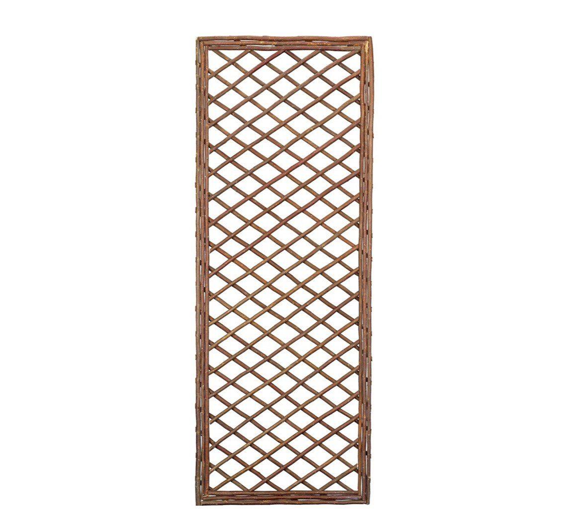 Gardman 1.8m x 0.6m Framed Willow Trellis Panel