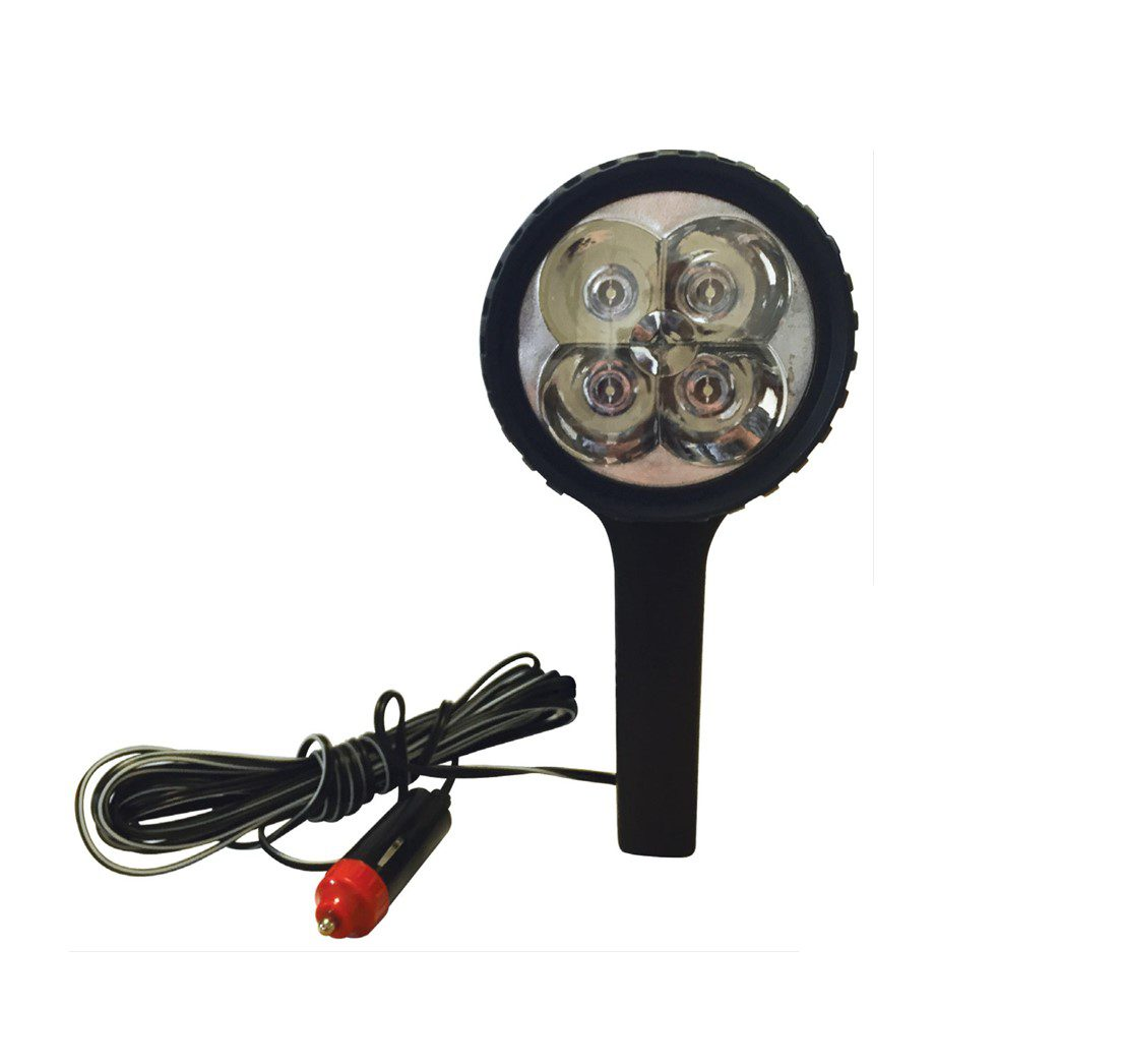 Streetwize 12v 4 Led Spotlight