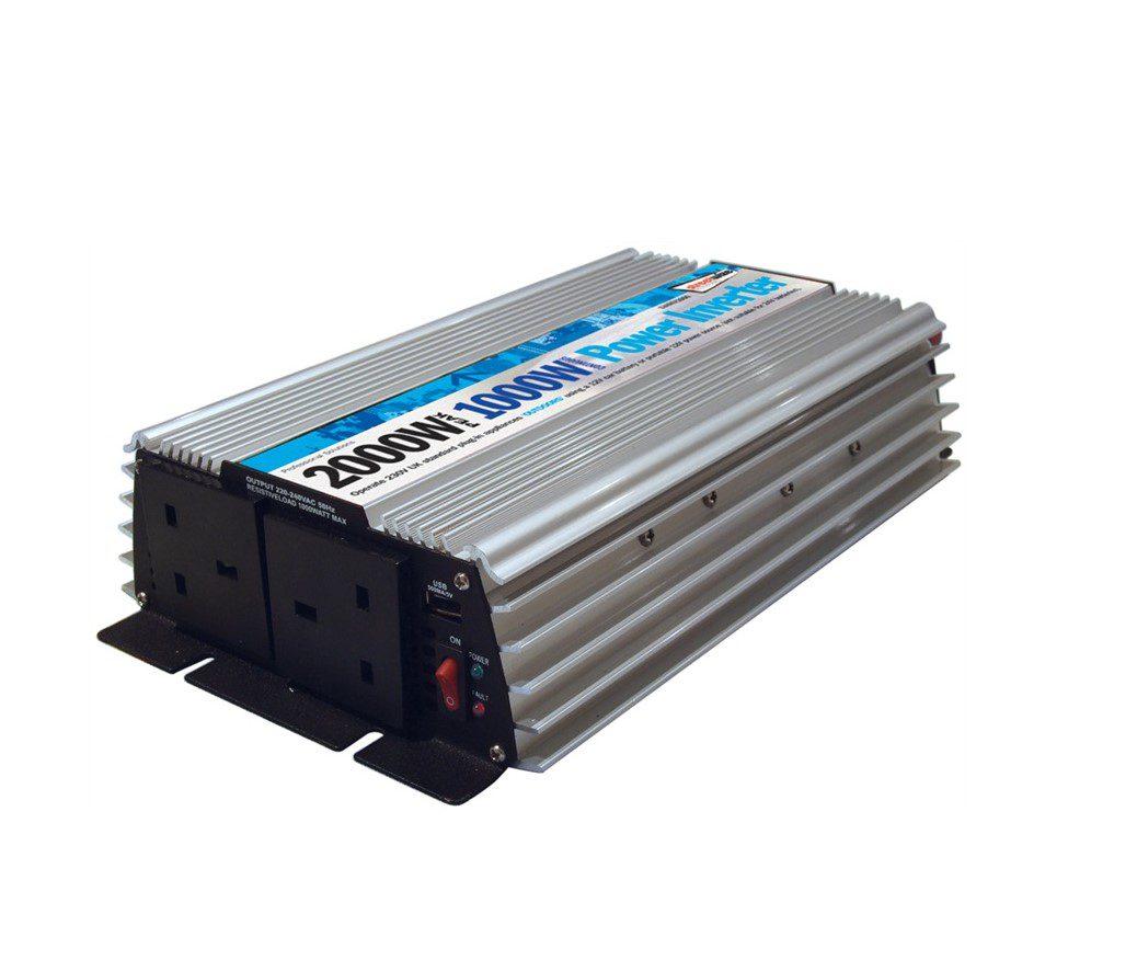 Streetwize AC + DC Power inverter 1000w