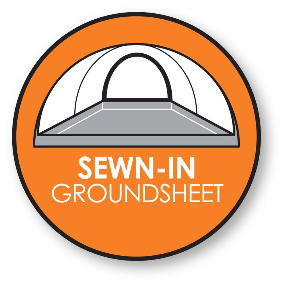 Sewn-In Groundsheet