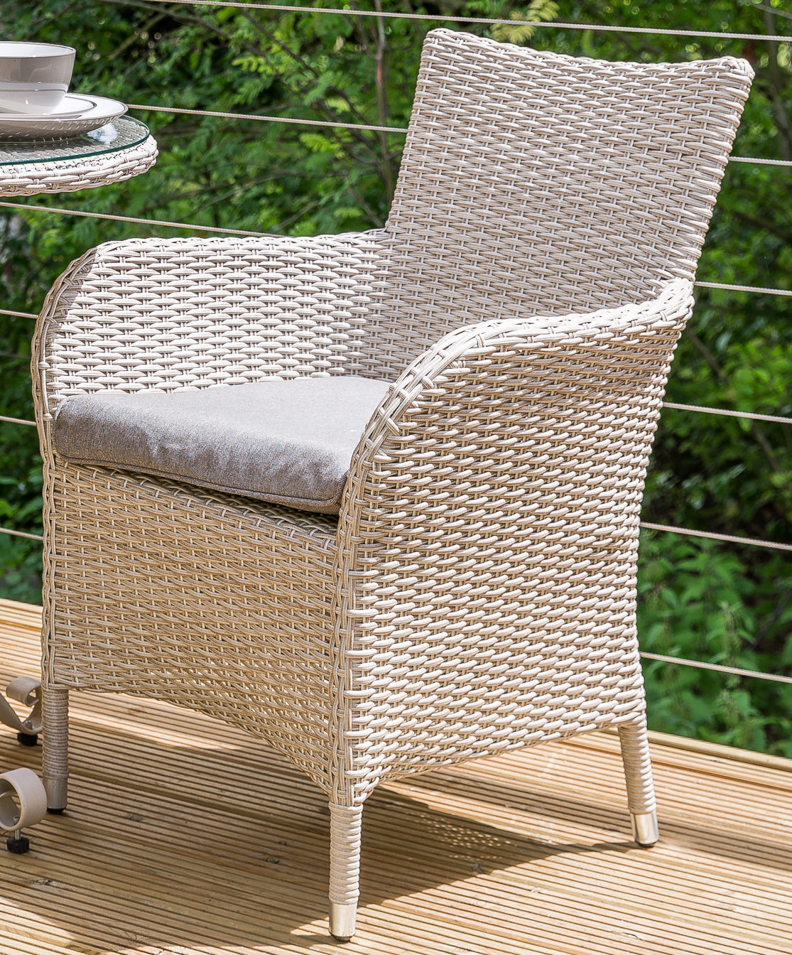 Leisuregrow Monaco Collection Dining Armchair