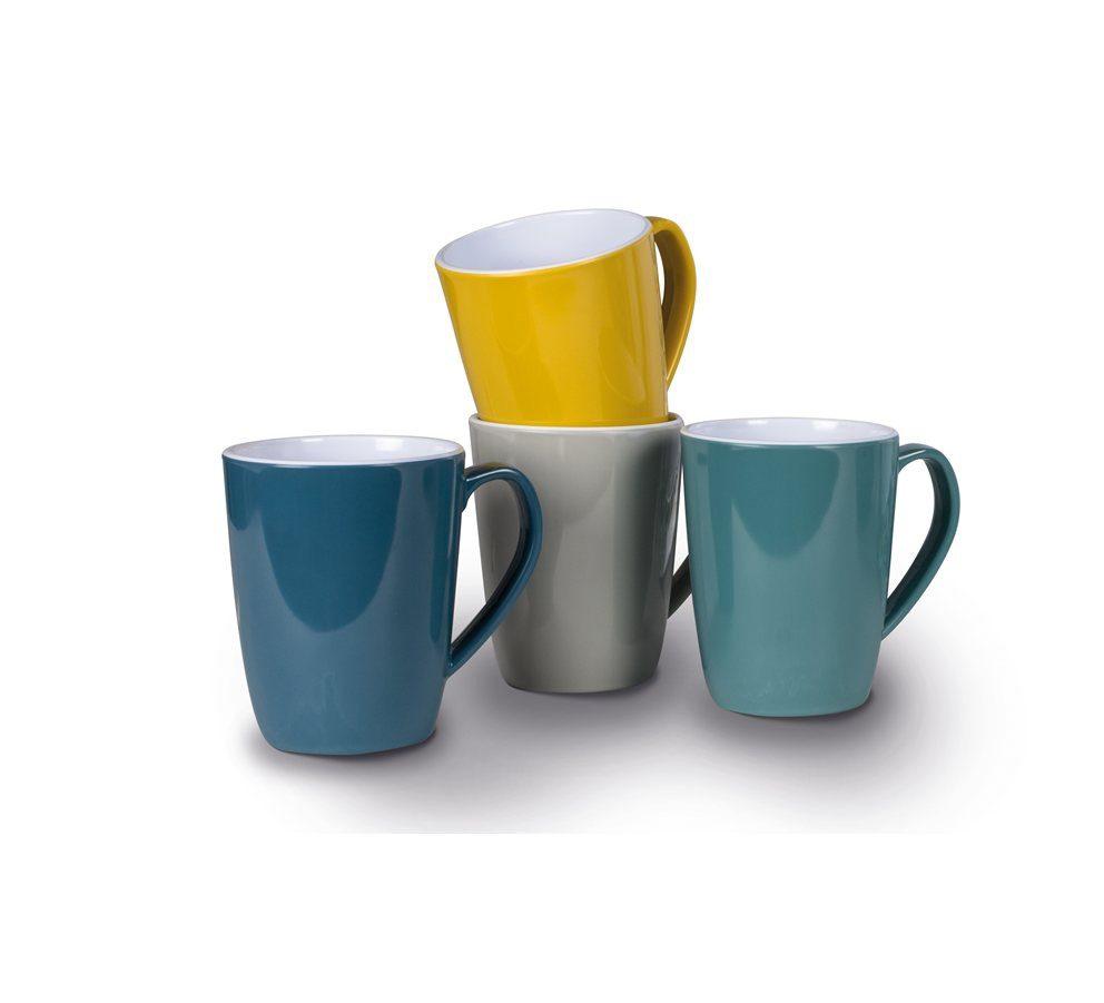 Kampa Heritage Mug Set mixed colours