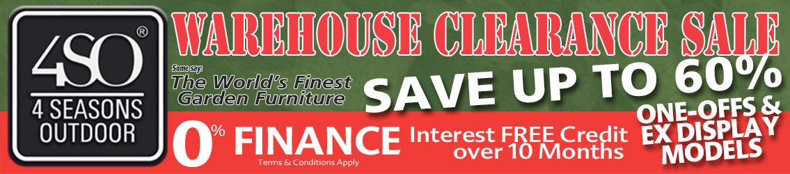 4 Seasons Warehouse Clearance Sale