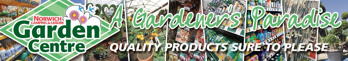 Garden centre dry goods banner