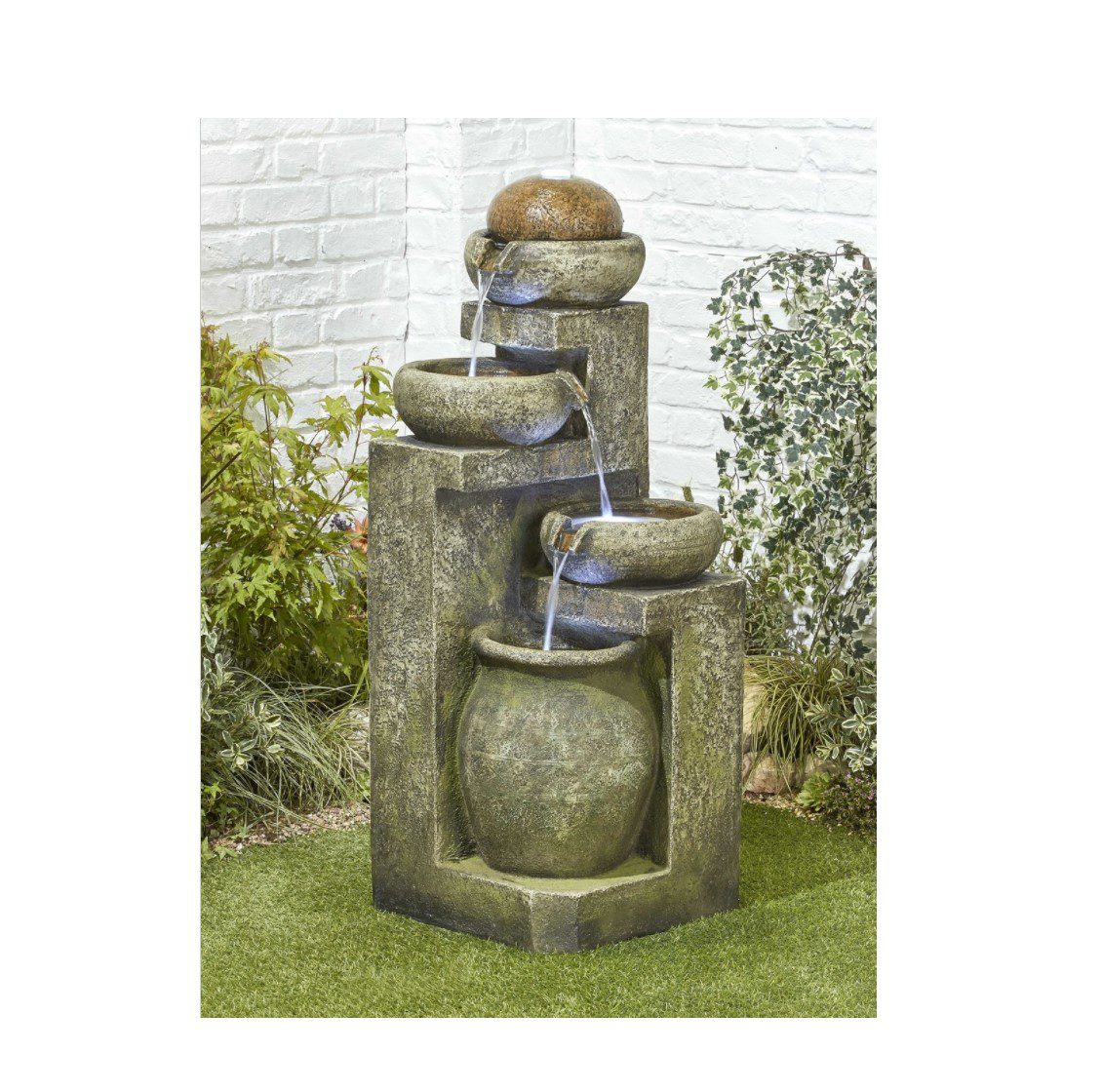 Kelkay Spanish Bowls garden water feature