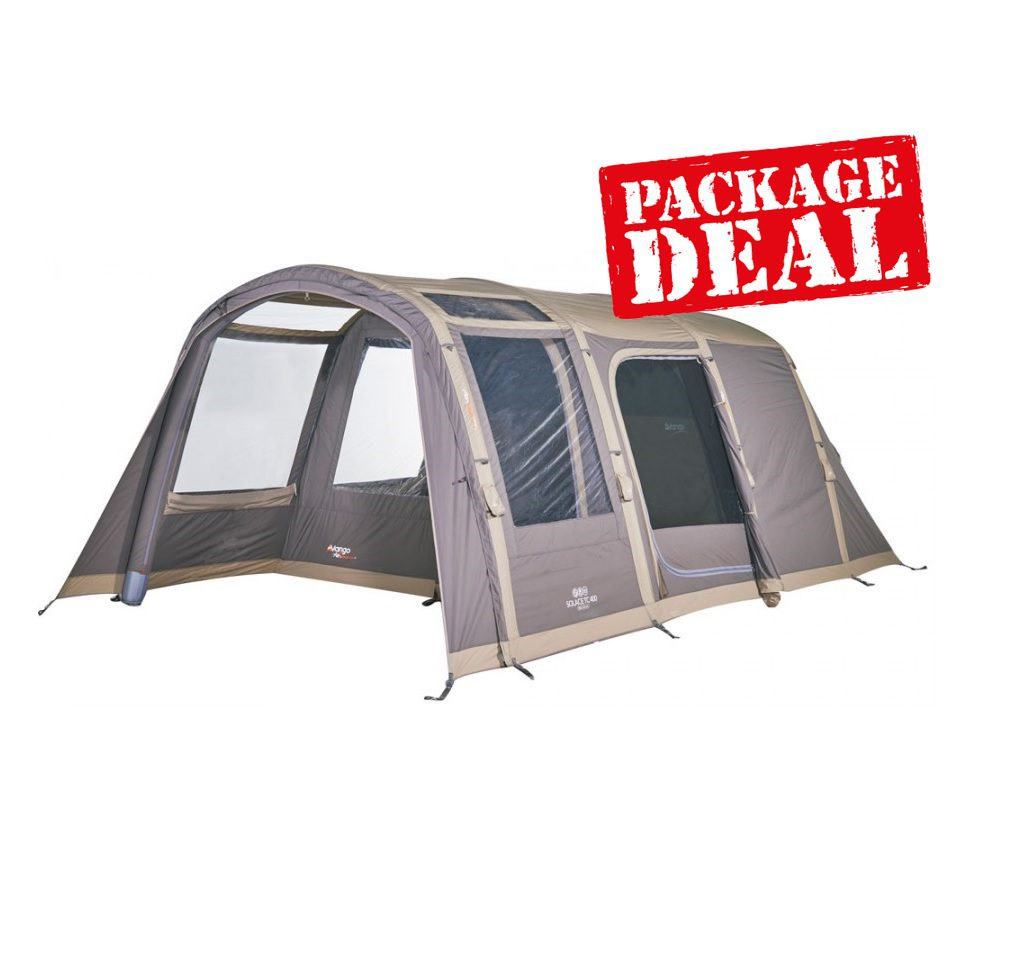 Vango Solace 400 Tc Tent Package Deal