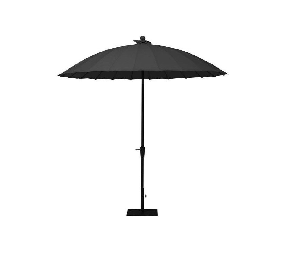 4 Seasons Shanghai 2.5m Parasol - black