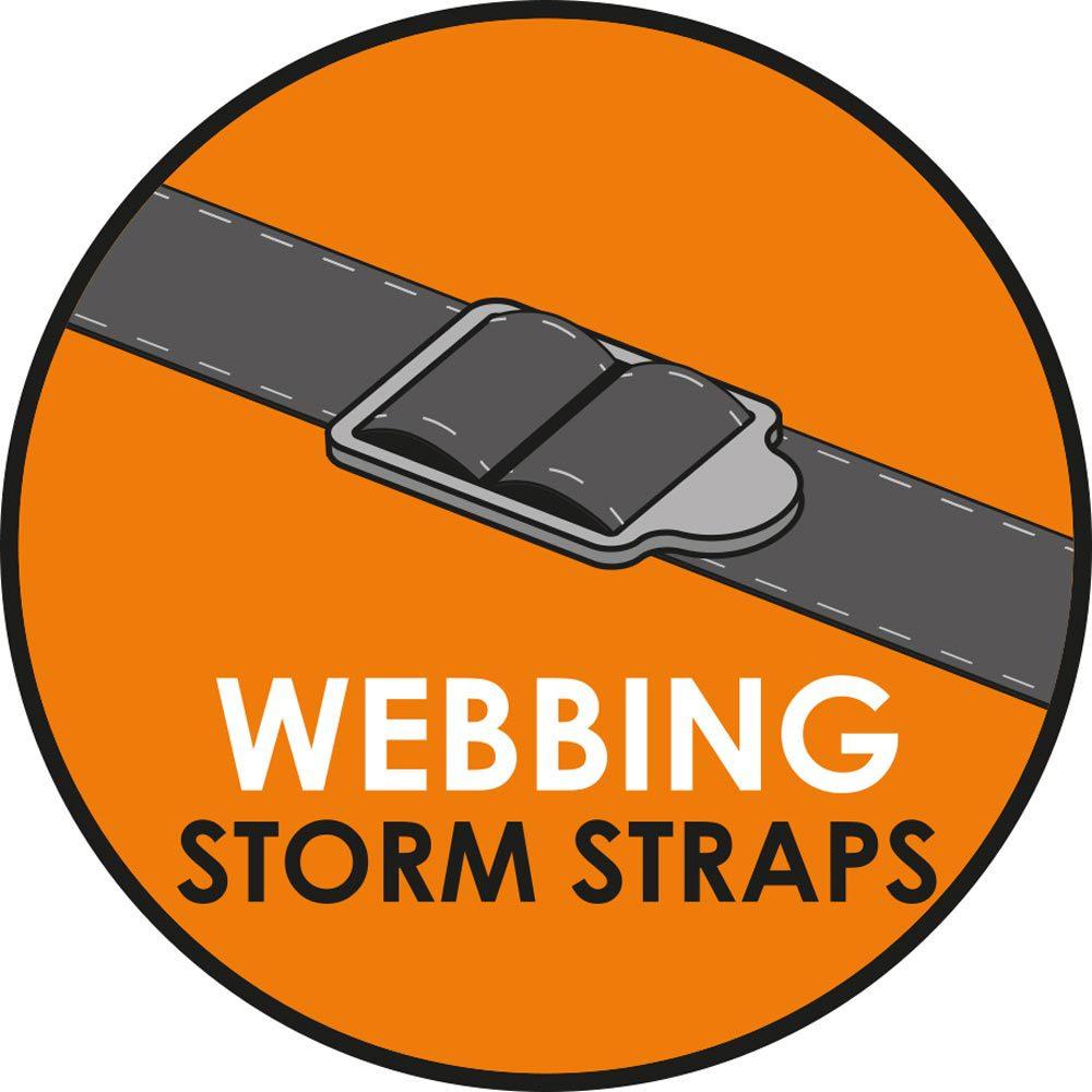Vango Webbing Storm Straps