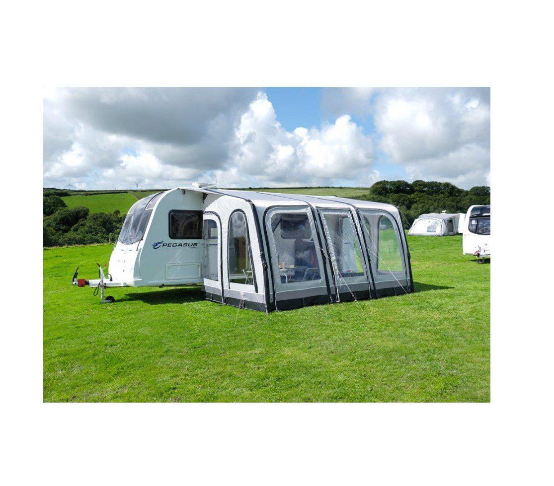 Vango Braemar II 400 porch awning lifestyle 2018