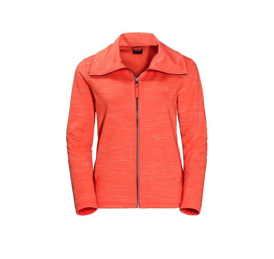 Jack Wolfskin Women's Oceanside Jacket - Hot Coral