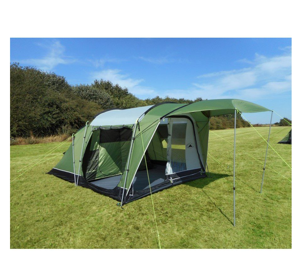 Sunncamp Silhouette 400 Tent 2018 - FREE FOOTPRINT | Norwich Camping
