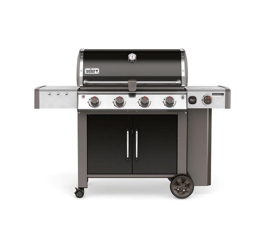 Weber® Genesis® II LX E-440™ GBS™ Black Gas BBQ