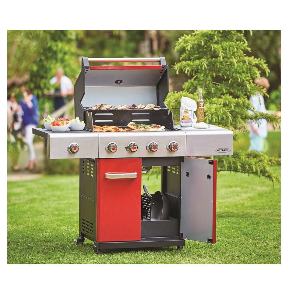Outback Jupiter 4 Burner Barbecue - Lifestyle