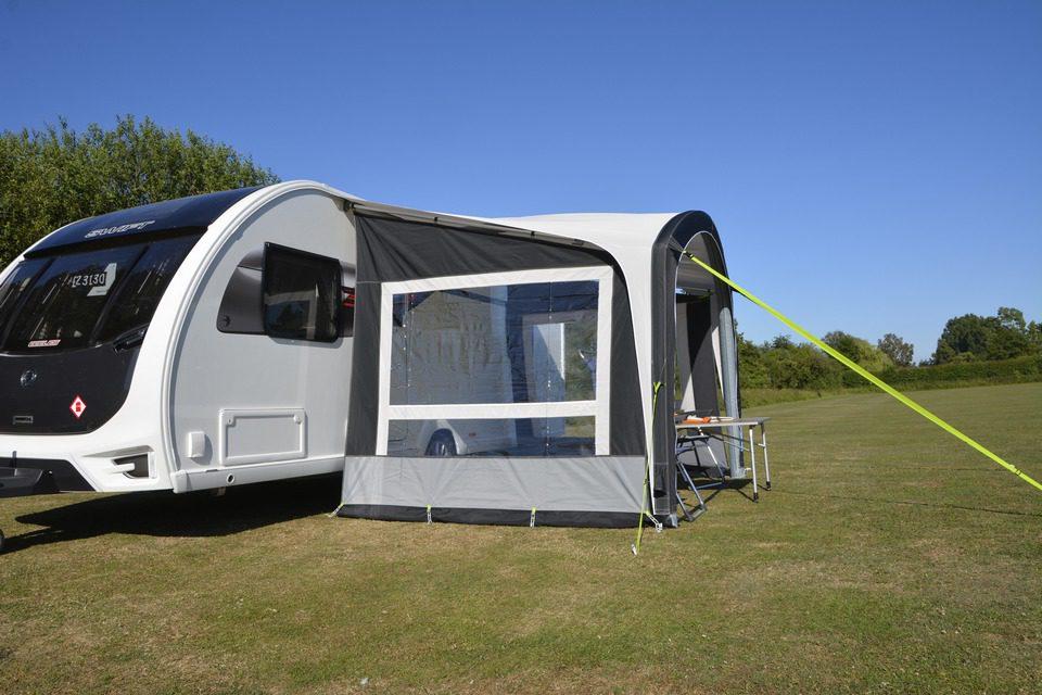 Kampa Sunshine Air Pro 300 Optional Sides Norwichcamping 16