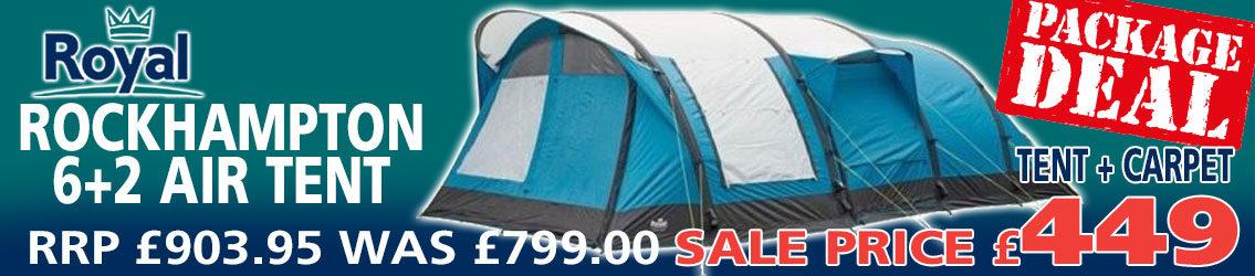 Royal Rockhampton 6+2 Tent Banner