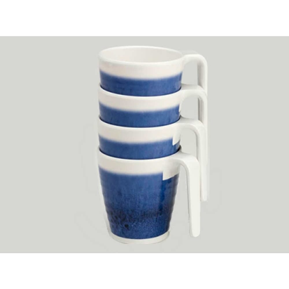 Flamefield Azure 4 pack mugs