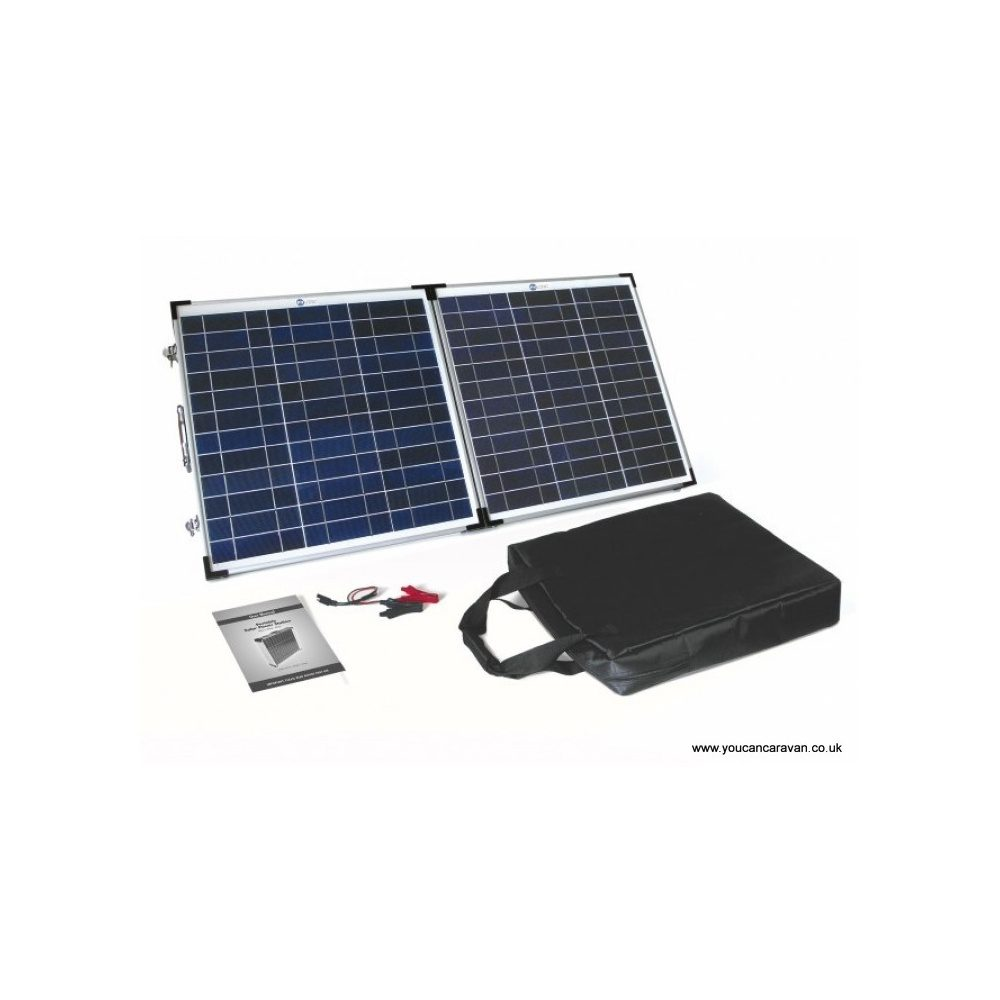 Fold Up Solar Panel With 8Ah Charge Controller 60 W P1243 2201 Image