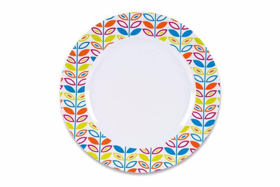 Mm0035 Flora Summer Dinner Plate