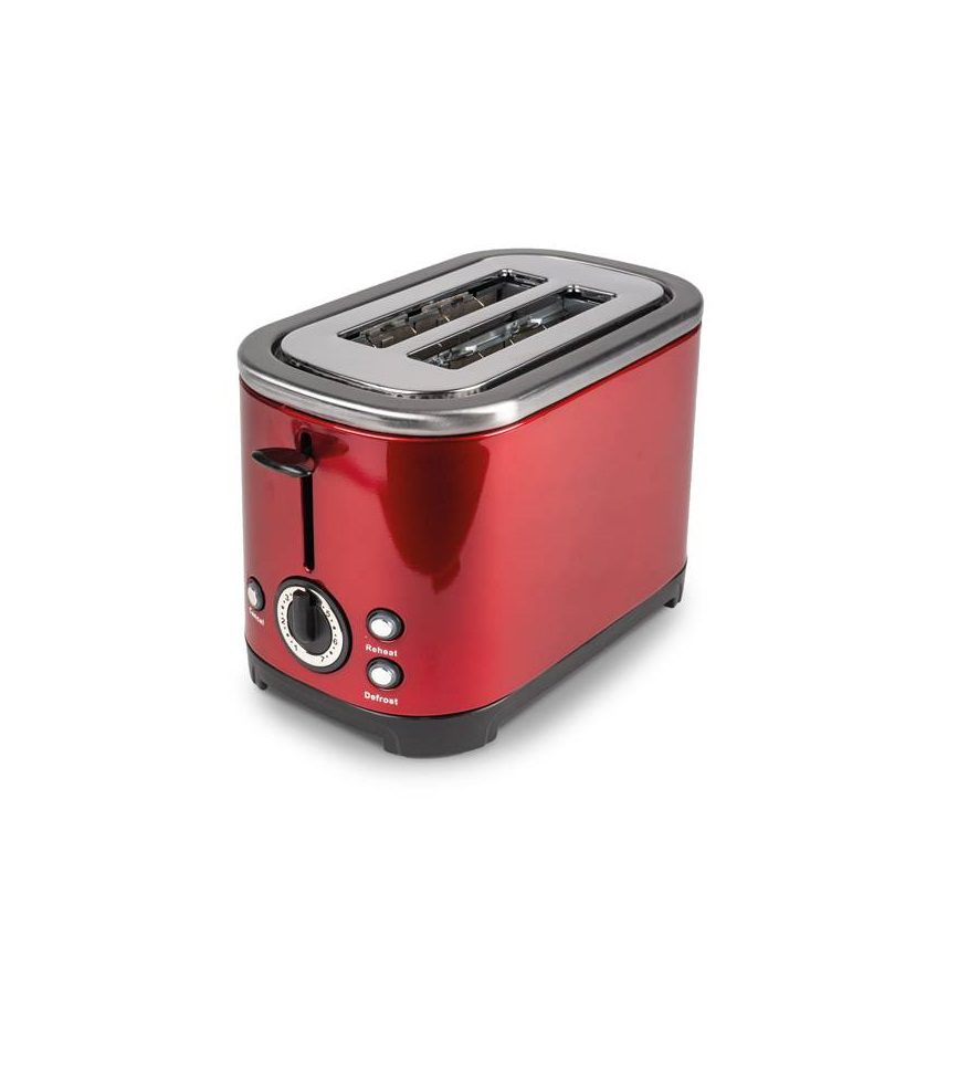 Deco Red Stainless Steel Toaster
