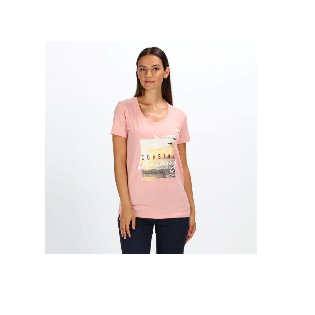 d2f508b0a9c98 Regatta Filandra III Graphic Print T-Shirt - Mellow Rose
