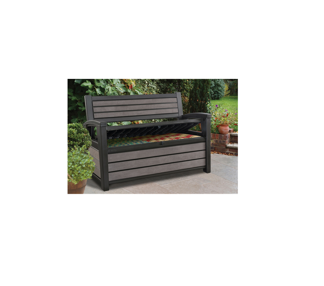 Stupendous Keter Hudson Storage Bench Norwich Camping Pabps2019 Chair Design Images Pabps2019Com