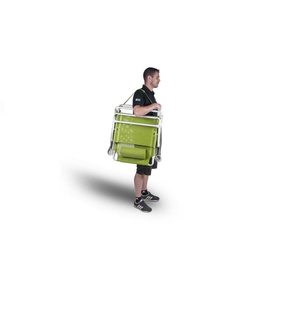 Kampa Strand Chair Go-Green Camping Caravan Garden Recline Chair FT0330