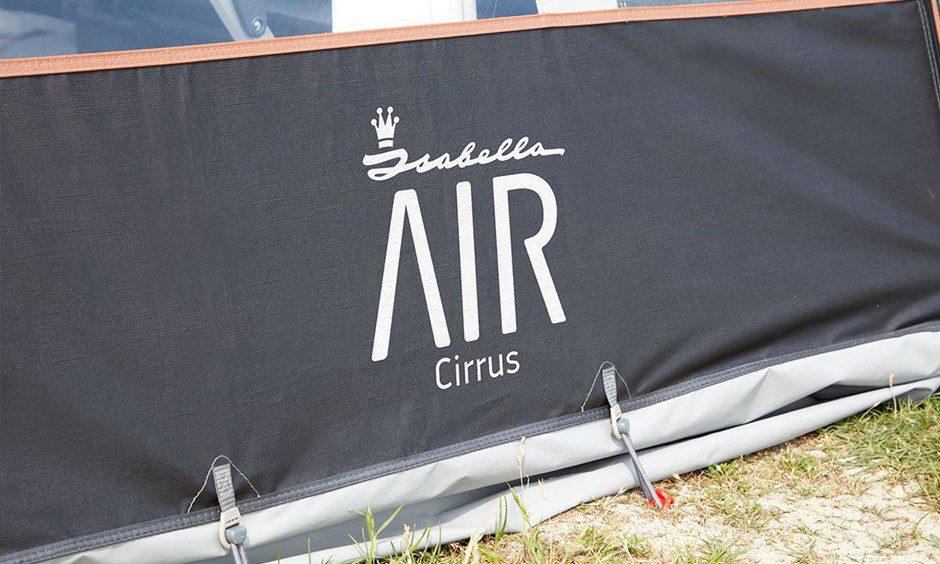 Isabella Cirrus North Air 400 Caravan Awning 2020 7