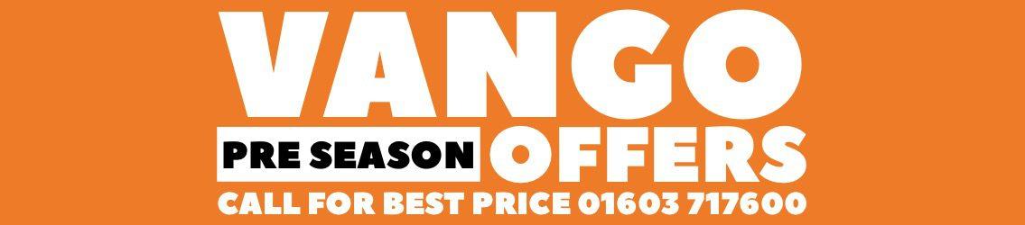 Vango Pre Season Offer Banner