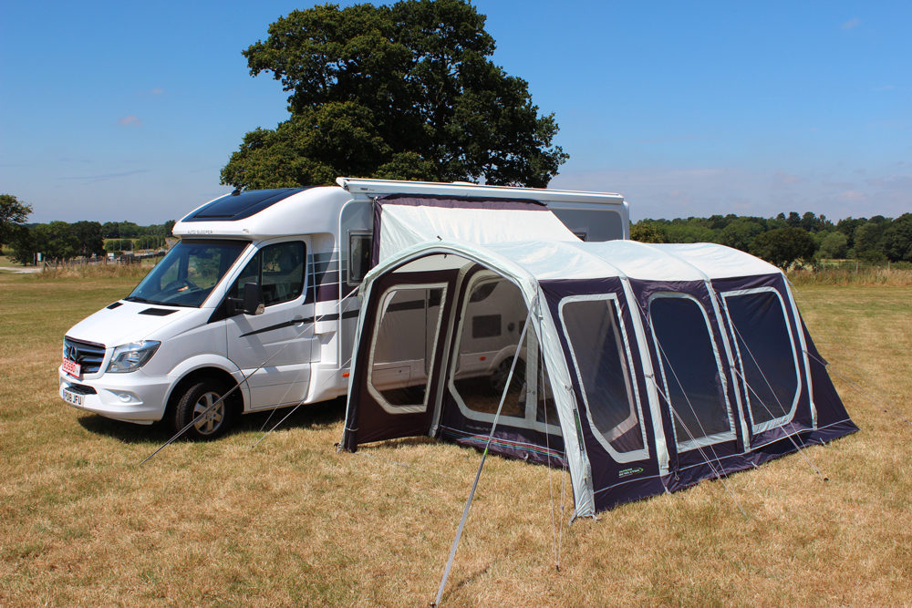 Outdoor Revolution Movelite T4 Driveaway Awning Norwich Camping 4