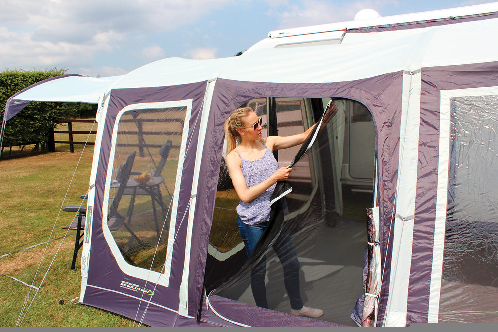 Outdoor Revolution Movelite T4 Driveaway Awning Norwich Camping 8