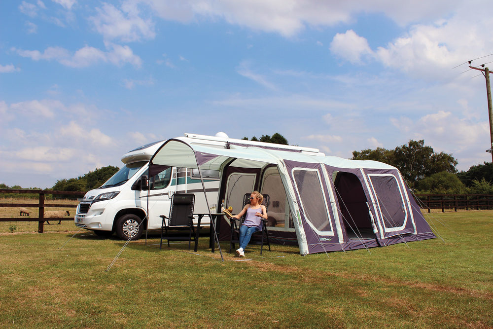 Outdoor Revolution Movelite T4 Driveaway Awning Norwich Camping 9