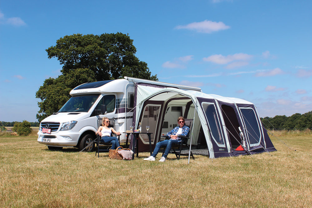 Outdoor Revolution Movelite T4 Driveaway Awning Norwich Camping 3