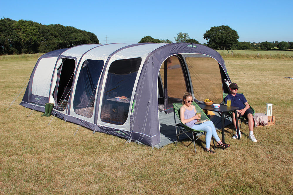 Outdoor Revolution Airedale 6S Air Tent Norwich Camping2