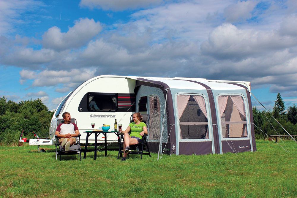 Outdoor Revolution Evora 260 Pro Climate Awning Norwich Camping 1