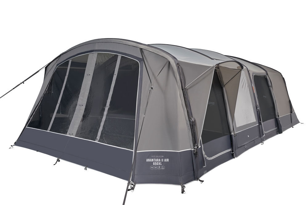 Vango 2020 Tents Airbeam Elite Anantara Air 650Xl Cloud Grey Norwichcamping Co Uk