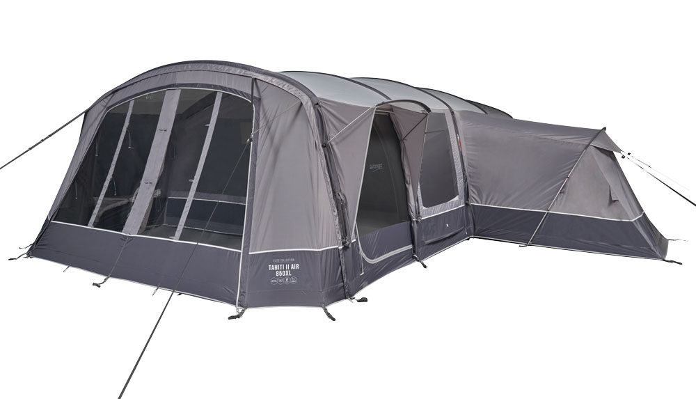 Vango 2020 Tents Airbeam Elite Tahiti Air 850Xl Cloud Grey Norwichcamping Co Uk