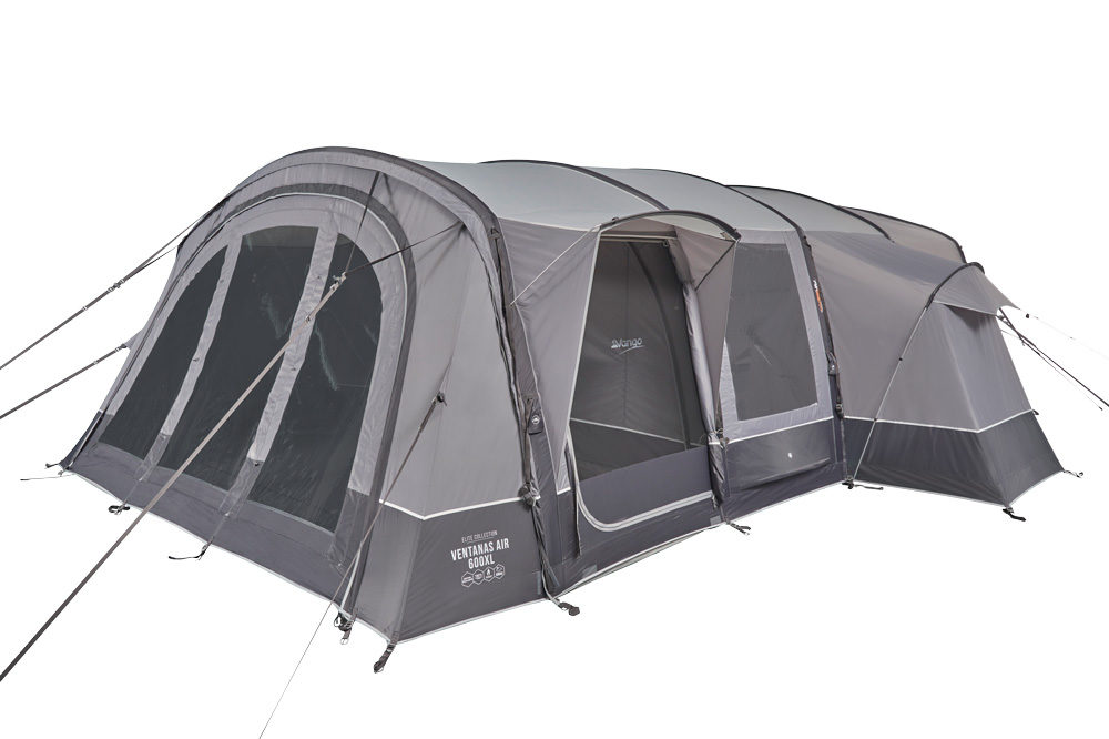 Vango 2020 Tents Airbeam Elite Ventanas Air 650Xl Cloud Grey Norwichcamping Co Uk