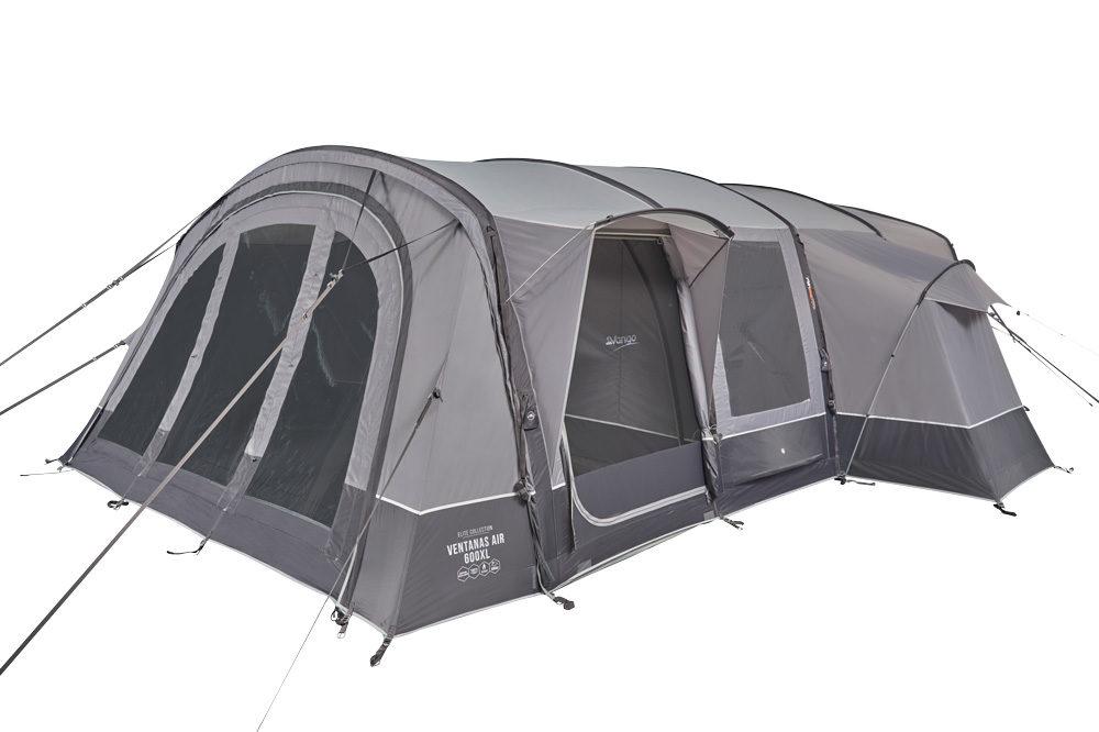 Vango 2020 Tents Airbeam Elite Ventanas Air 650Xl Cloud Grey Norwichcamping Co Uk