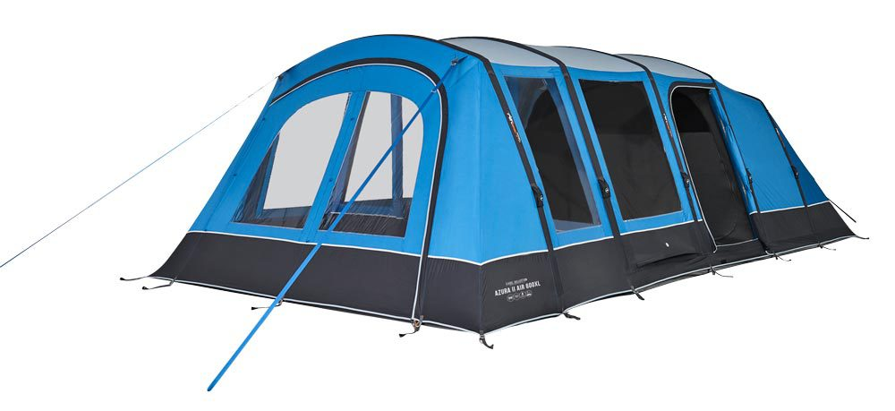 Vango 2020 Tents Airbeam Excel Azura Ii 600Xl Norwichcamping Co Uk