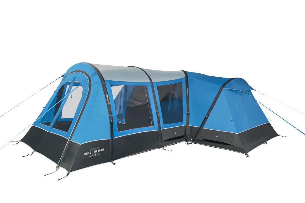 Vango 2020 Tents Airbeam Excel Diablo Air 850Xl Sky Blue Norwichcamping Co Uk